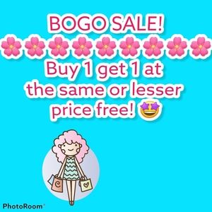 BOGO- Buy 1 Get 1 Free 🤩